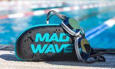 Поступление очков и шапочек для плавания MadWave