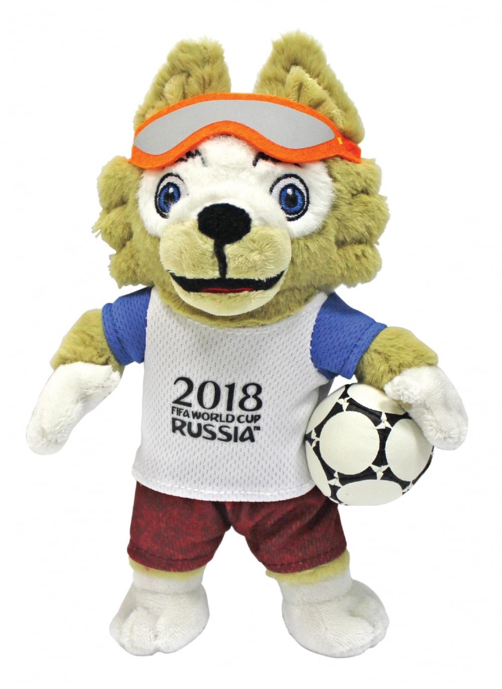 Символ FIFA-2018 Волк Забивака