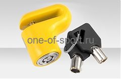Велозамок Stels на диск. тормоз арт.83205 ключ