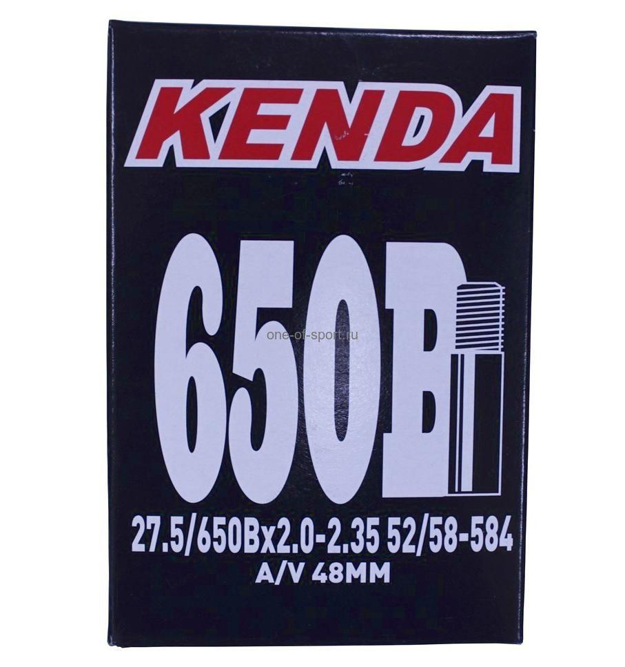"""Велокамера 27,5"""" 2.0-2.35 a/v-48mm Kenda арт.510370"""