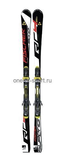 Горные лыжи Fischer RC4 Superior SC + RC10 арт.A07513 р.160-170