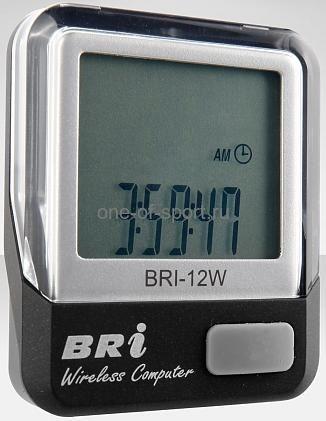 Велокомпьютер Stels 12 функций арт.BRI-12W (бепровод.)