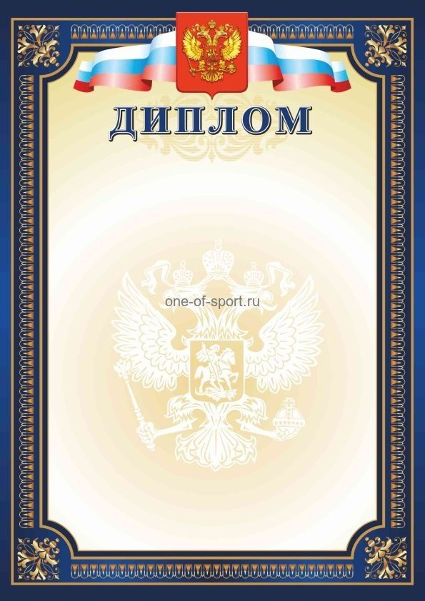 Диплом РФ синий