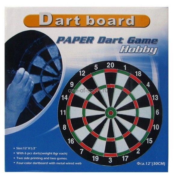 Дартс 30,5 см (картон) арт.BL12315