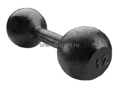 Гантель литая Titan (чугун) 12 кг