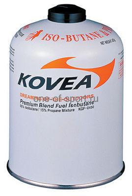 Газ баллон резьбовой KOVEA изобутан/пропан арт.KGF-450