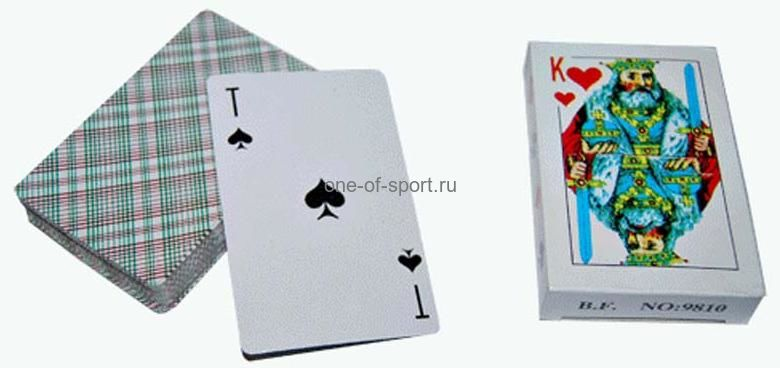 Карты игральные 54 листа арт.9810