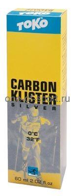 Клистер без фтора Toko Carbon Silver 0 60мл.