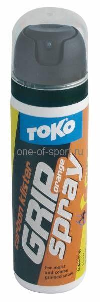 Клистер без фтора Toko Carbon (оранжевый) 0/-2 (спрей) 70мл