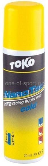 Клистер со фтором Toko NanoTec HF -10/-20 (спрей) 50мл