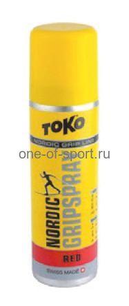 Клистер без фтора Toko -1/-8 Red (спрей) 70мл