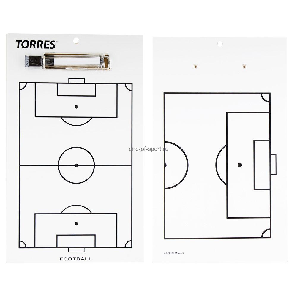 Доска тактическая Torres футбол арт.TR1002S