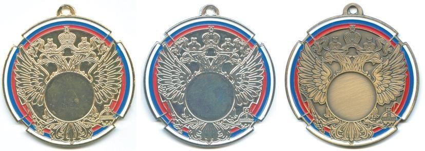 Заготовка медали MD Rus.70мм вкладыш 25мм