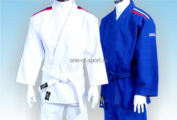 Кимоно Дзюдо Чемпион синее Eskhata р.40-54