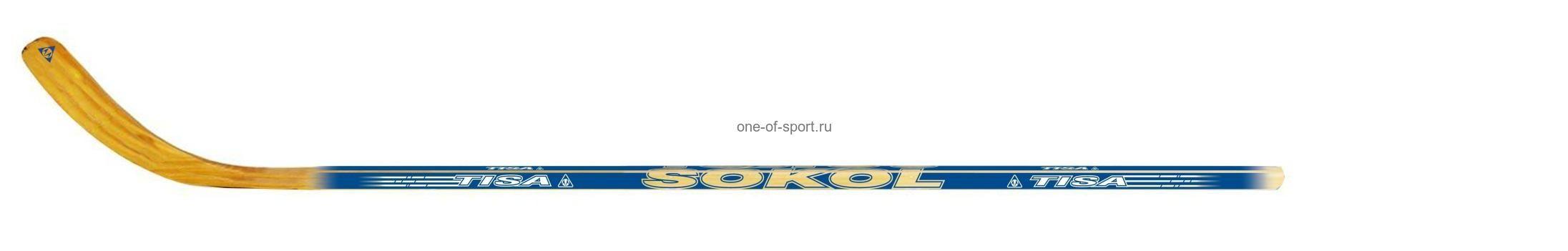 Клюшка хоккейная Tisa Sokol JR арт.Е72074