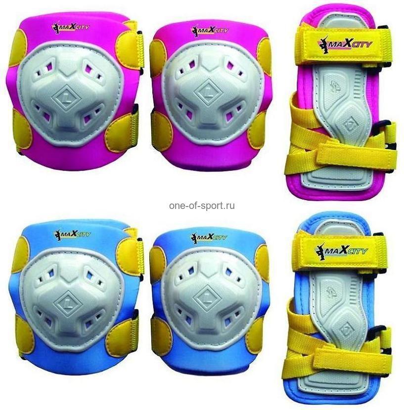 Защита роликовая MaXcity арт.GAME детская р.S-L