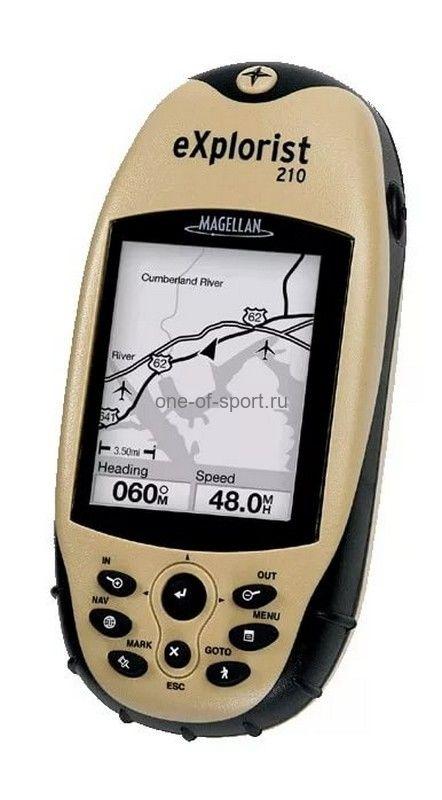 Навигатор Magellan eXplorist210