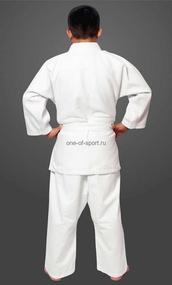 Кимоно Дзюдо стандарт белое Eskhata р.28-54