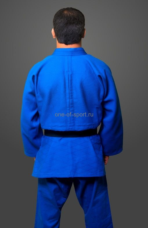 Кимоно Дзюдо стандарт синее Eskhata р.28-54