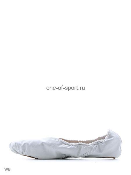 Балетки белые Grishko (кожа) ПРОФИ арт.03001К разд.подошва р.33-40