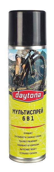 Велосмазка Daytona универсальная очиститель аэрозоль 520г.