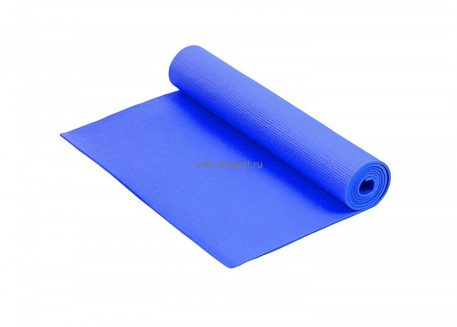 Коврик для йоги Tempus арт.LKEM-3010 173х61х0,3см (синий)