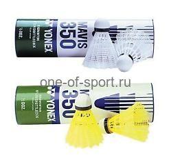 Волан пластик Yonex Middle желт-син арт.М-350 (упак.6 шт.)