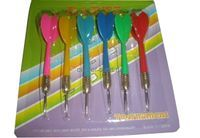 Набор стрел для дартса 6 шт, 16гр, цветн арт.BL6008
