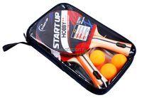 Набор н/теннис StartUp арт.BB-20/2** (2 ракет,сетка,крепеж,3 шар)