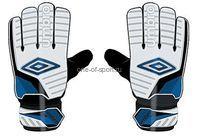 Перчатки вратарские Umbro Decco Glove арт.20535U р.8-11
