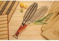 """Решетка-гриль """"Пикничок"""" для рыбы антипригар. арт.401-021"""