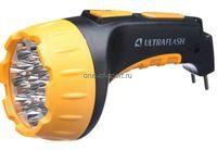 Фонарь Ultraflash LED,SLA 15 св. диодов  аккум. 220V 2реж.арт.3815