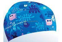 Шапочка для плав. MadWave Lycra Sea Life Jn (лайкра) арт.M0522 02