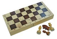 Шахматы парафинированные с доской 290*145*38 арт.Р-4