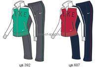 Костюм Nike Reg CL Polywarp Track Suit арт.534040 р.XS-L