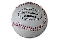 Мяч для бейсбола, твёрдый (ис.кожа)