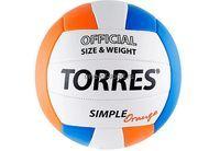 Мяч в/б Torres Simple Orange арт.V30125 (V10125)