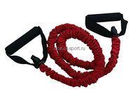 Эспандер трубчатый Tempus (нагр.4,5кг) красный арт.LEP-6101 р.8*12*120