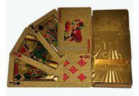 Карты игральные 54 листа подарочные (золото) арт.JSD-1