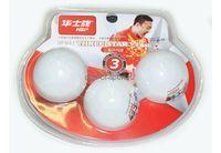 Мячи для н/т 3* HSP 40мм арт.HP041 (упак.3 )