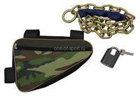 Велозамок 1200 (h-6 мм, высокопрочн) в сумке ключ-скоба
