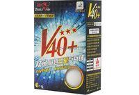 Мячи для н/т Double Fish Volant 3зв. 40+ ITTF(уп.6шт) арт.A110F(602776