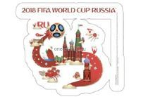 FIFA-2018 Наклейка на авто Россия 26х22см арт.5181354