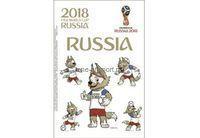 FIFA-2018 Тату для тела Забиваки и Россия 26х14см арт.5181442