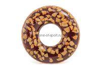 Круг Intex арт.56262 Шоколадный пончик от 9лет 114см
