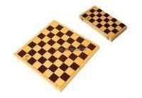 Доска для шахмат 300х300мм, высота 42мм (пластик)