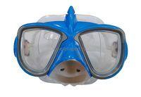 Маска для плав. Tempus (дет.) акула, синий арт.M504