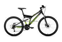 """Велосипед Forward 2-х подвес Raptor NEW 26"""" 21ск. арт.2.0 MD р.16""""-18"""""""
