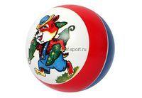 Мяч резиновый (детский) 150 мм лакир. арт.С52ЛП с картинкой