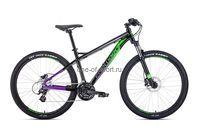 Велосипед Forward Quadro D 26 3.0 (р.17, цв.синий)